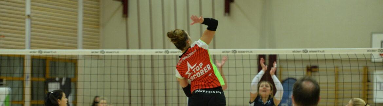 Raiffeisen Volley Toggenburg mit starkem ersten Satz gegen Düdingen