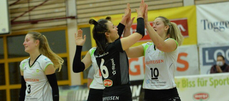 Raiffeisen Volley Toggenburg gewinnt einen Satz im Jura