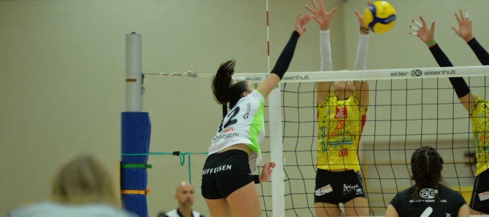 Raiffeisen Volley Toggenburg verliert das Spiel um Rang 7 gegen Lugano knapp mit 2:3