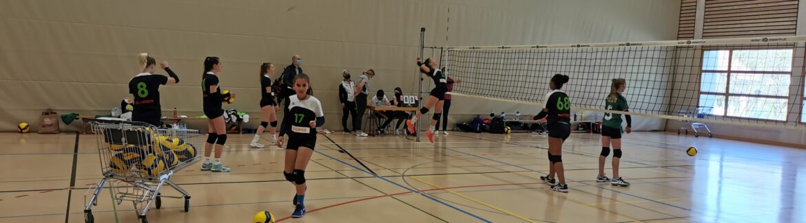 Livestream regionale Qualifikation U15: Raiffeisen Volley Toggenburg – STV St. Gallen