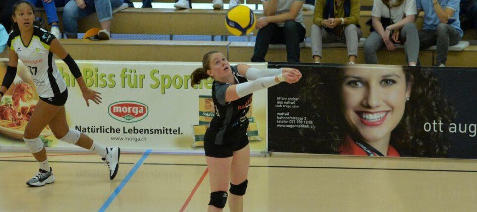 Spielbericht Cheseaux – Raiffeisen Volley Toggenburg
