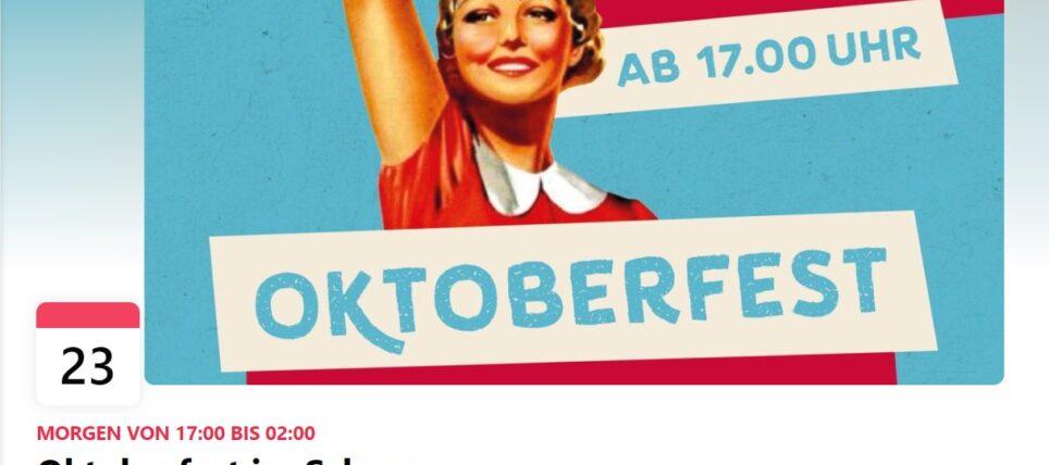 Oktoberfest 2021 im Schuppen in Ebnat-Kappel